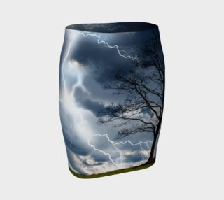 Electric Conversation - Fitted Skirt preview