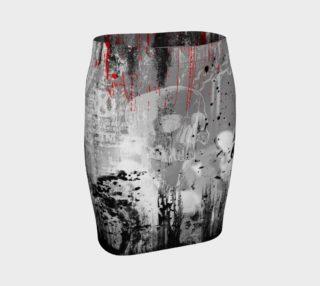Aperçu de Unredeemed Gothic Stretch Skirt