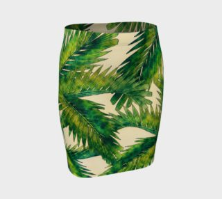 fitted skirt palms preview