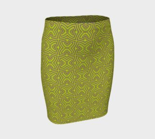 Green twisted pattern preview