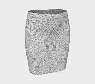 Geometric net pattern preview