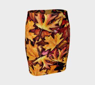 Fall Leaves Skirt preview