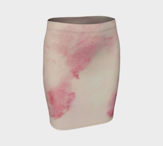 Fading in Pink Fitted Skirt preview