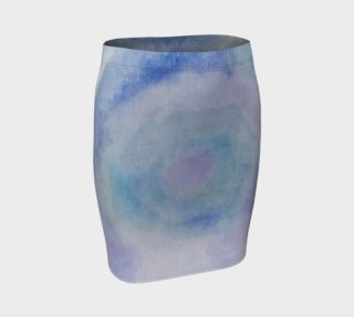Blue Rose Dance Fitted Skirt preview
