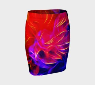 Electrified Dahlia Fitted Skirt preview
