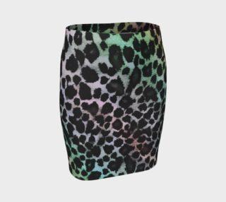 Rainbow Leopard Skirt preview