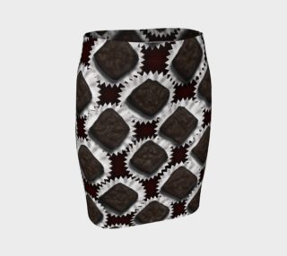 Box of Chocolates Fitted Skirt preview