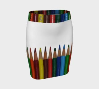 Circular Colored Pencils by PhotoGraphic Artistry by Heather J Kirk preview