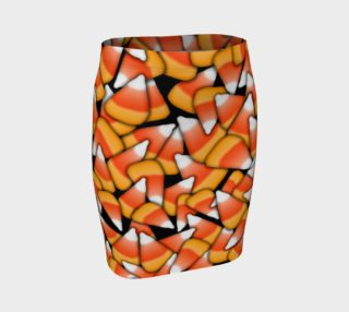 Candy Corn Fitted Skirt preview
