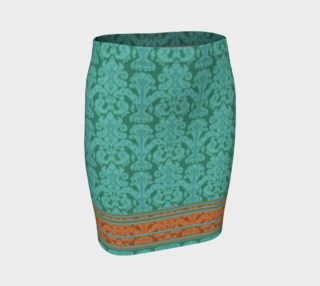 Ikat Teal preview