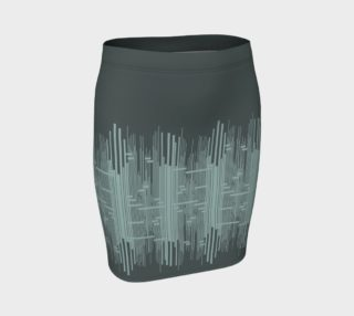 Sounds Fitted Skirt preview