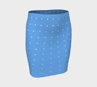 Umsted Design Baby Blue with White Polka Dots preview
