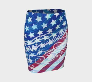 July 4 Fitted Skirt preview