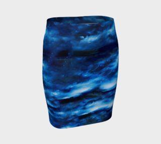 Aperçu de Dreamscape Fitted Skirt