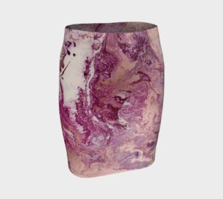 Purple Copper Majesty Fitted Skirt preview
