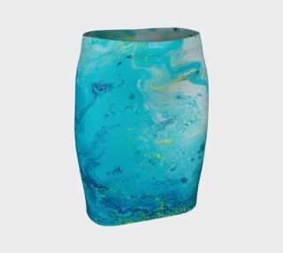 Aperçu de Cool, Calm, & Collected Fitted Skirt 2