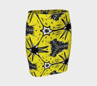 Aperçu de Abstract Yellow and Black 2