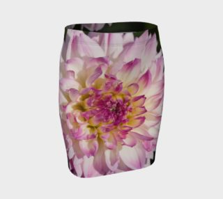 Pink Dahlia Fitted Skirt preview
