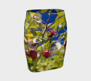 Crabapple Branch Fitted Skirt preview
