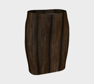 Log Cabin Pattern-Vertical Fitted Skirt preview