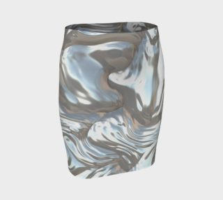 Mother of Pearl Fitted Skirt preview