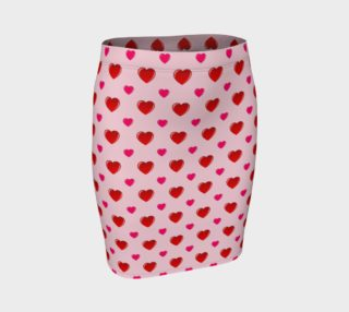 Valentine's Day Fitted Skirt preview