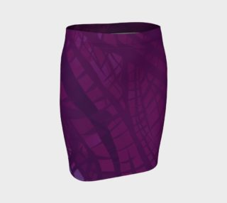Purple Raptor Fitted Skirt preview