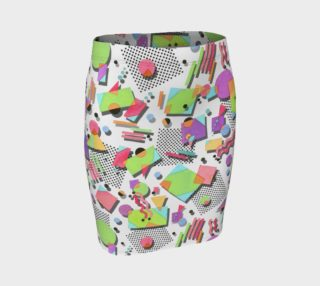 Rad Nineties Fitted Skirt preview