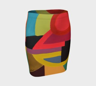Aperçu de NOTHING IS THE SAME Fitted Skirt