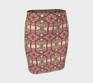 Mayan Lace Fitted Skirt preview
