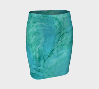 Cool Waters Fitted Skirt preview