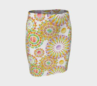 Sorbet Fireworks Fitted Skirt preview