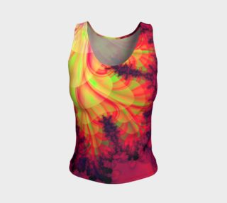 Spreading Blob Fitted Tank Top preview
