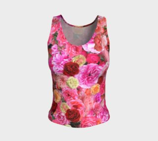 Rose Fitted Tank Top preview