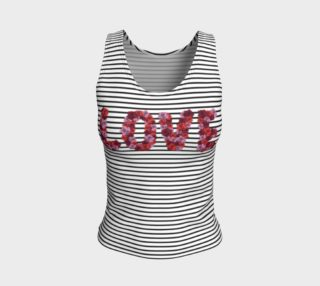 Blooming Love Fitted Tank Top preview