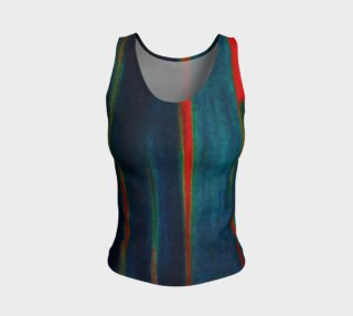 Meteor Trails Fitted Tank Top preview