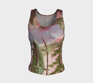 Little People fitted tank top preview