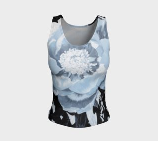 """""""A Peony For Your Thoughts"""" Fitted Tank Top preview"""