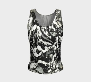 Aperçu de Matt LeBlanc Art Fitted Tank Top - Design 004