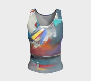 Aperçu de Beyound Reflection fitted tank top