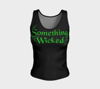 Something Wicked Halloween Tank Top preview