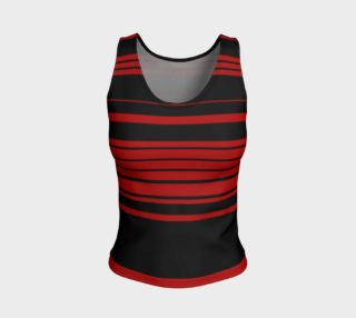 Three Red Stripes You're Out Fitted Tank Top preview