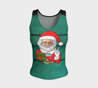 Jerry Christmas - fitted tank top preview