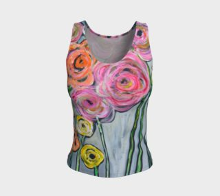 Aperçu de NM floral athletic tank top