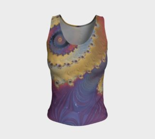 Nebulous Fitted Tank Top preview