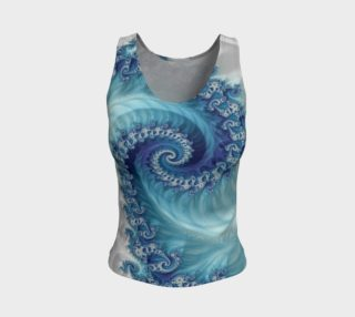 Sound of Seashell Fitted Tank Top preview