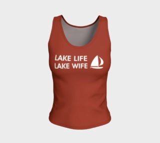 LAKE WIFE, BRICK RED preview