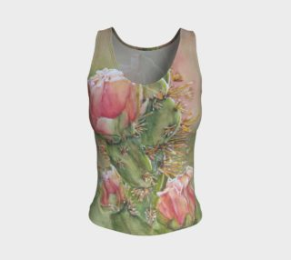 Pink Cactus Flowers Tank Top preview