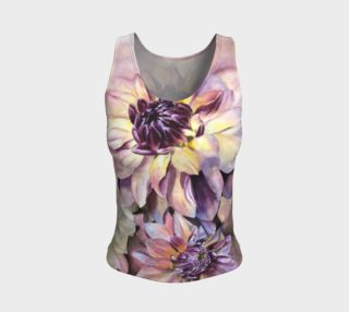 Dahlias Tank Top preview