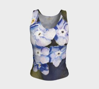 Forget-me-not Flowers Tank Top preview